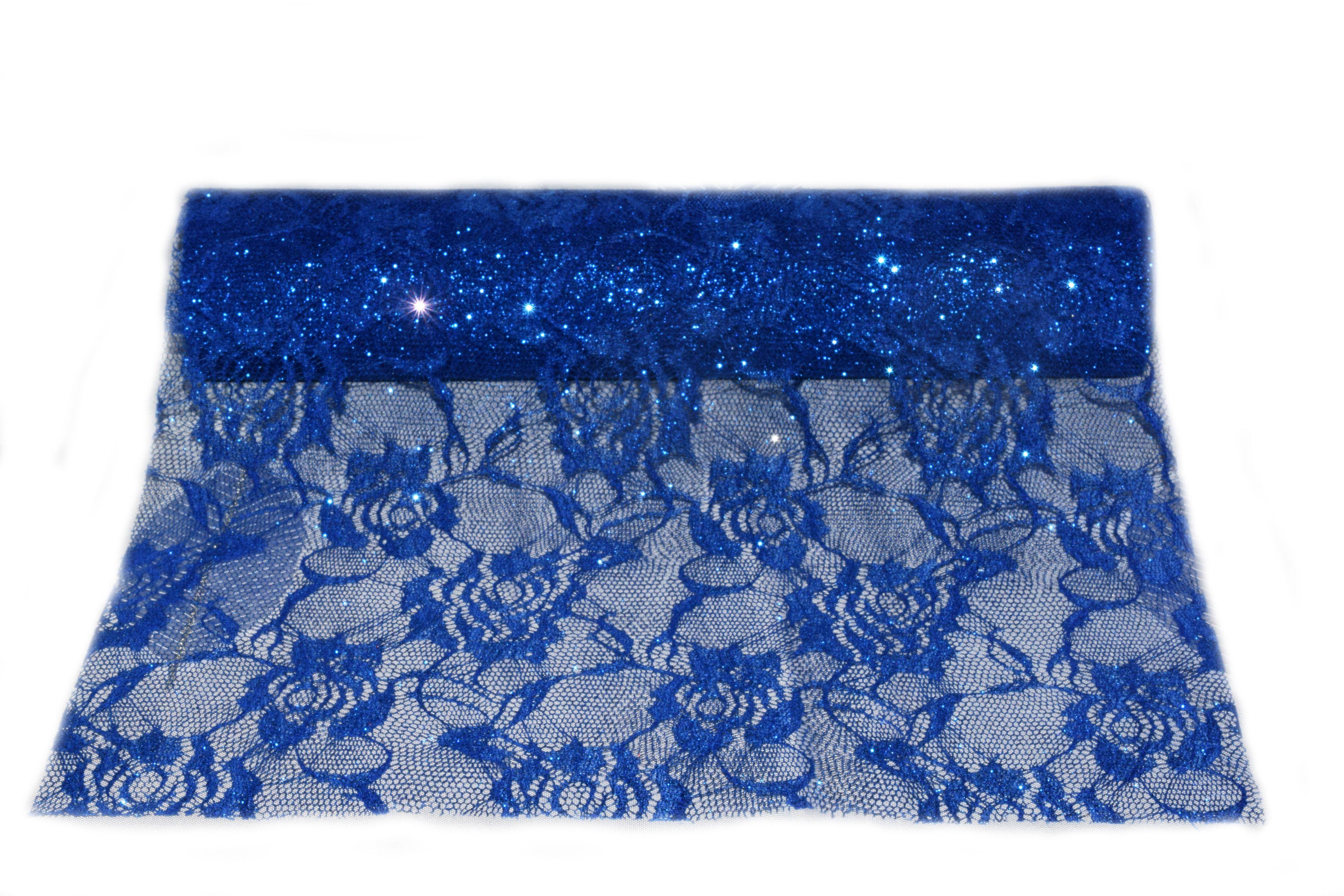 chemin de table bleu pour noel-bijoux feminin