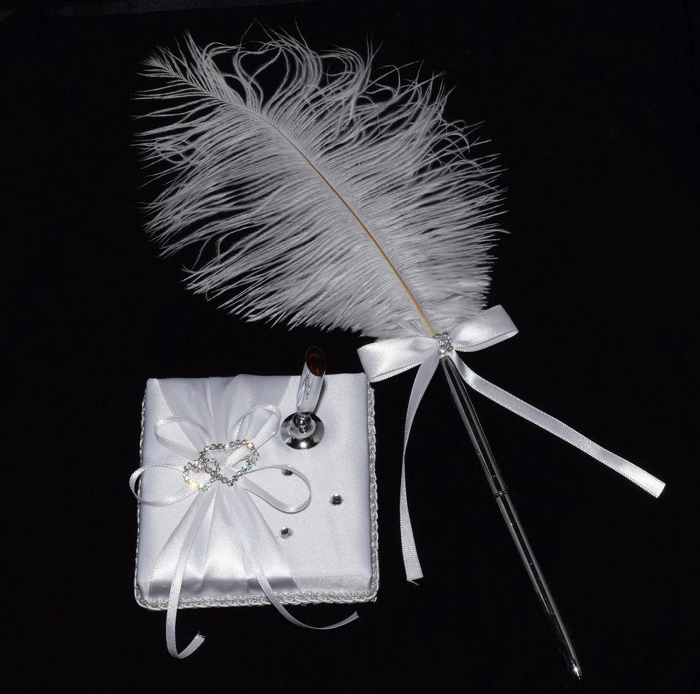 porte stylo coeur pour livre d 39 or pour mariage bijoux feminin. Black Bedroom Furniture Sets. Home Design Ideas